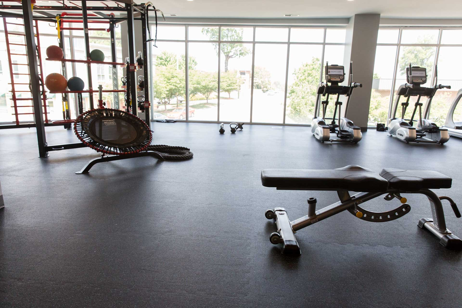 Fitness Center Flooring Installer
