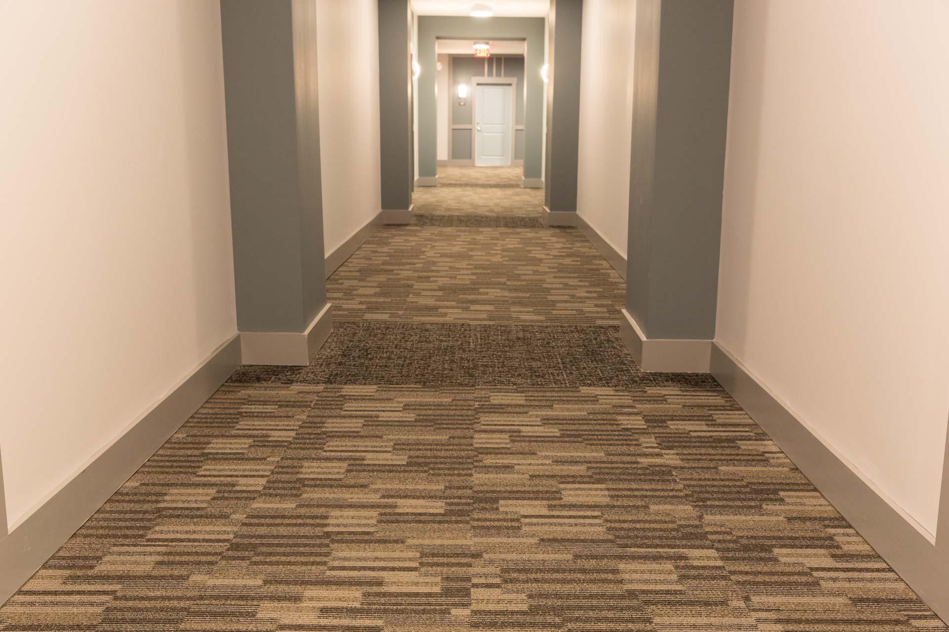 Quiet Hallway Carpeting
