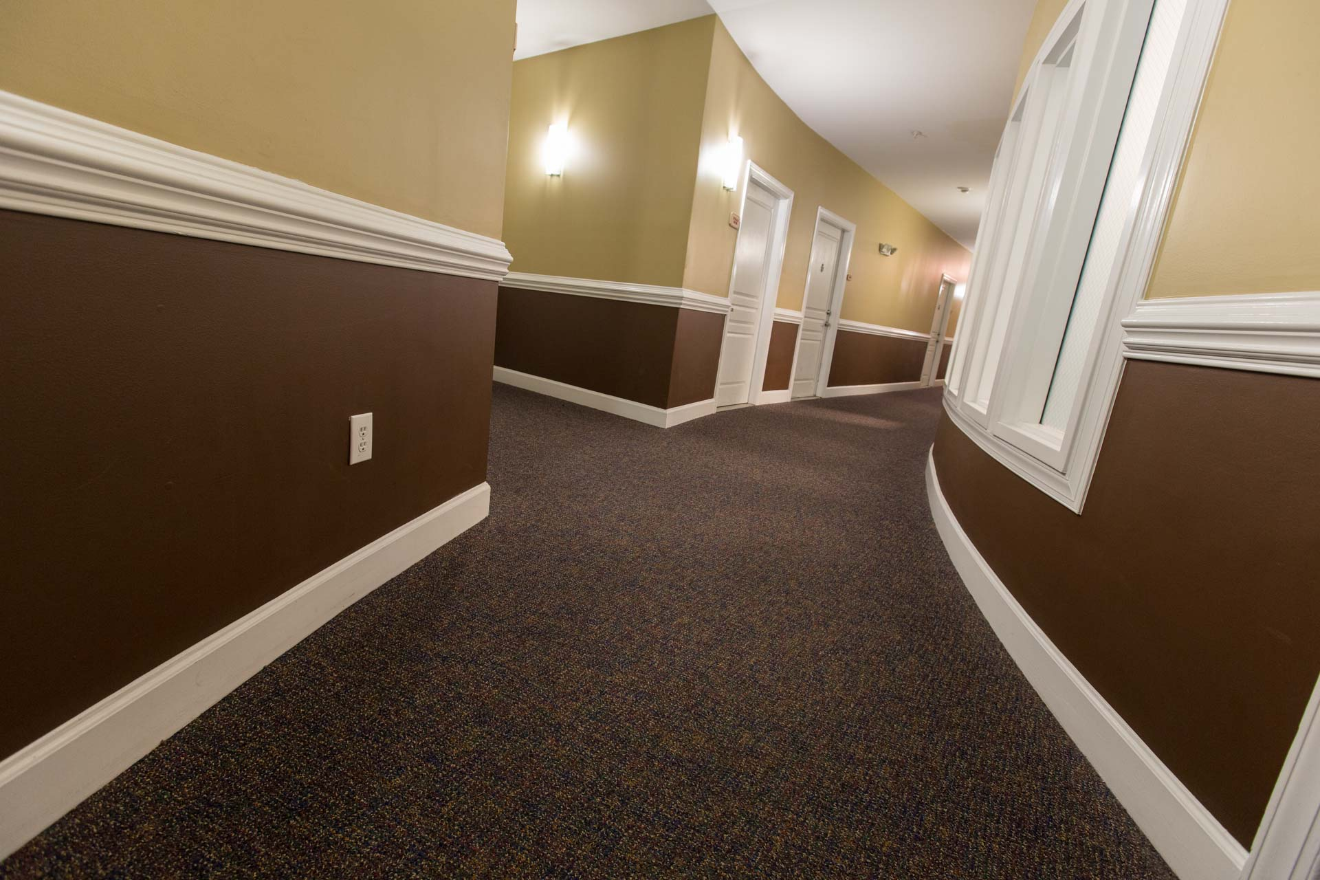 Sound Absorbing Hallway Carpet