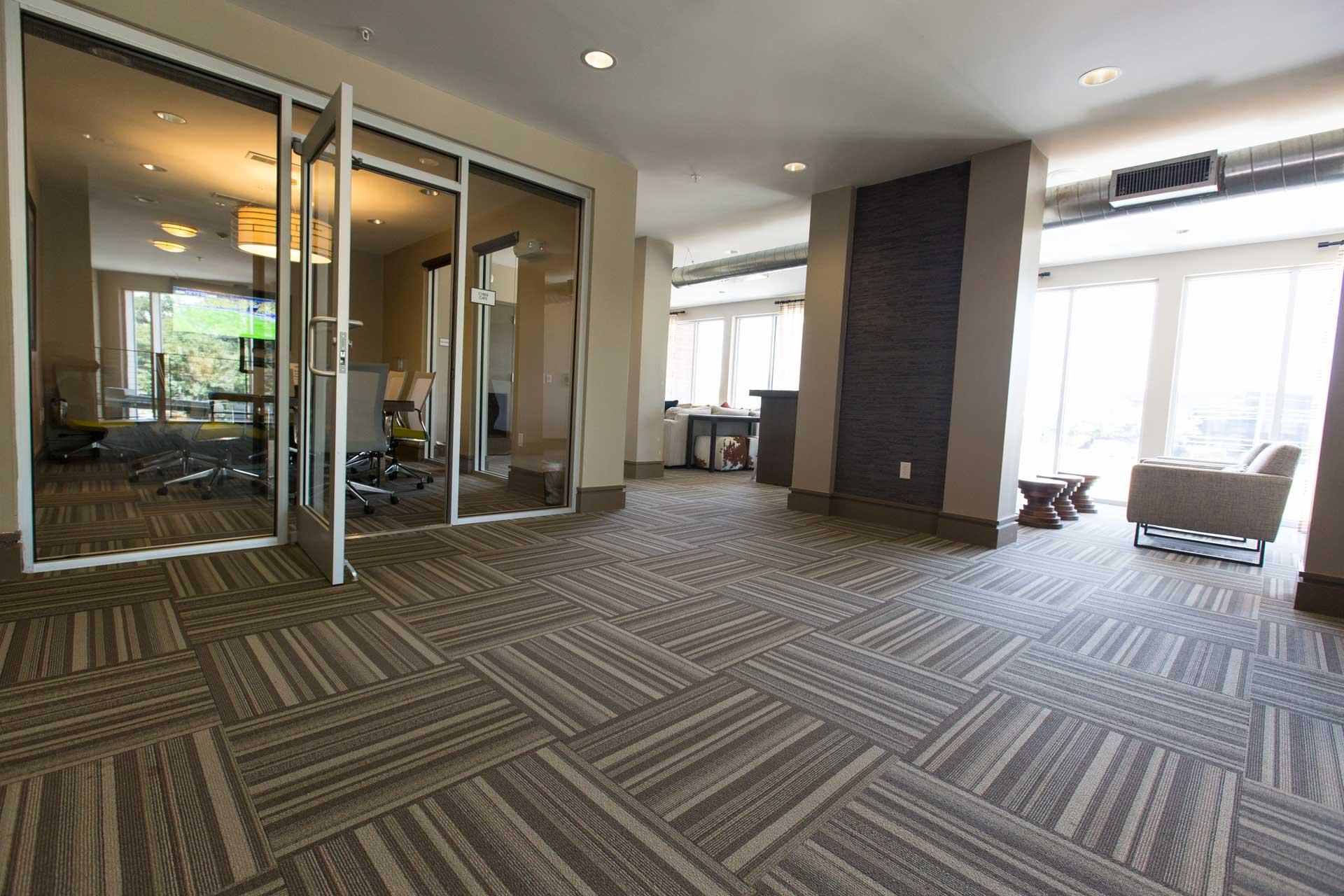 Striped Carpet Tile