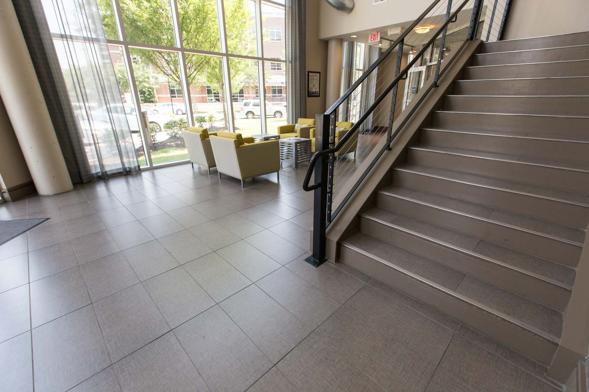 Tile Floor Entryway